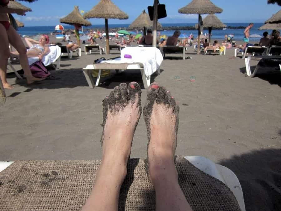 TravelXL-van-Limburg-TENERIFE-Playa-de-Troja-strandbedje
