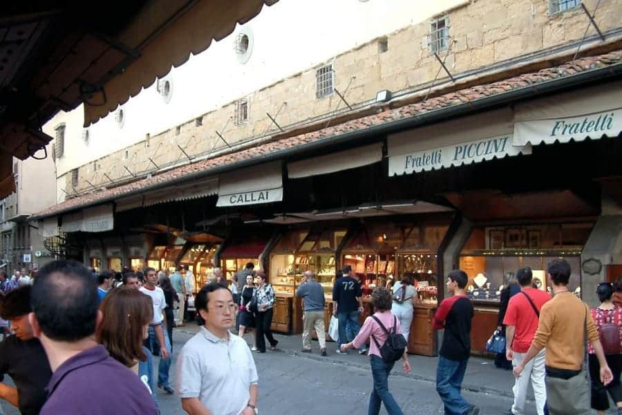 TravelXL-van-Limburg-FLORENCE-Ponte-Vecchio-winkels